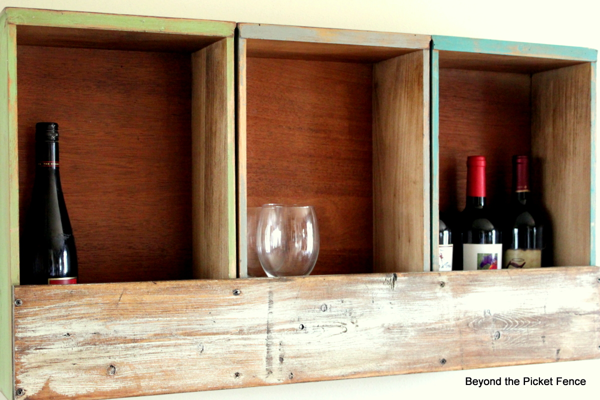 Beyond The Picket Fence Drawer Bar Shelf