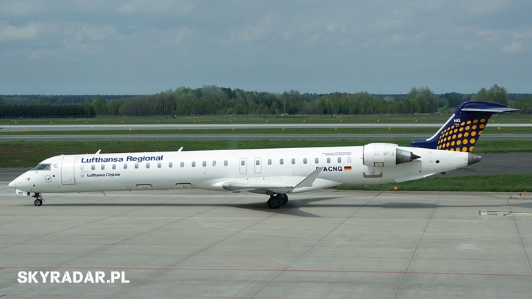 D-ACNG - Bombardier CRJ900 NextGen