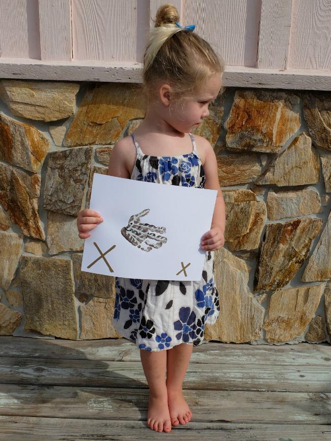 Sweet Turtle Soup: Animal Hand & Foot Print Alphabet Art