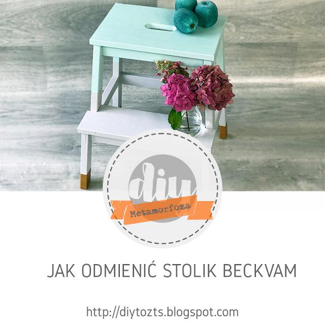 METAMORFOZA – IKEA HACK – JAK ODMIENIĆ STOLIK BECKVAM
