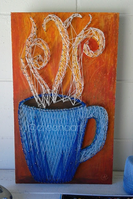 coffee mug by eileenaart
