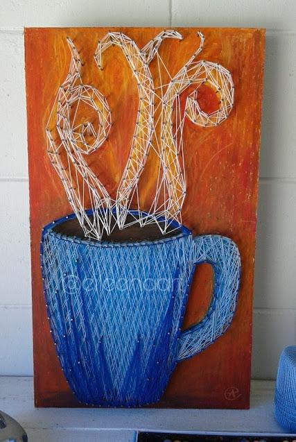 coffee mug by eileen a art