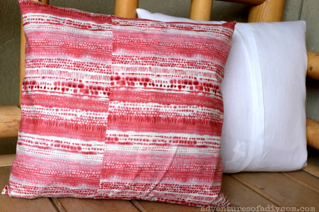easy envelope pillow cover