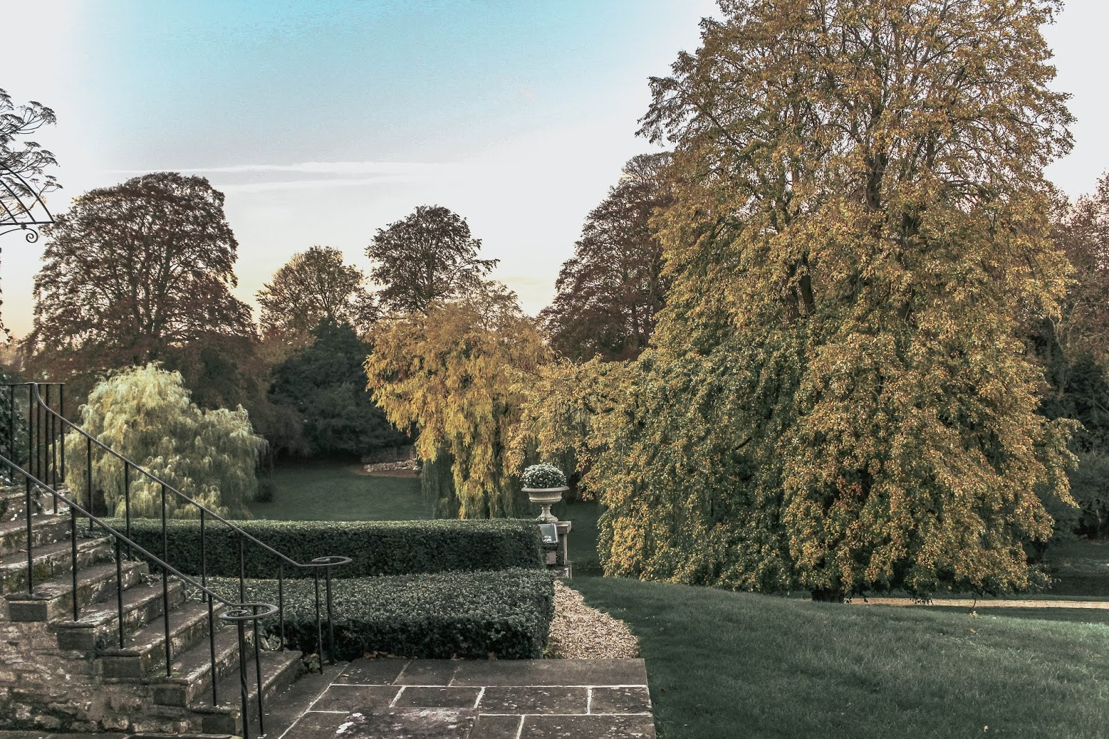 Ston Easton Park Hotel Garden Autumn Photography
