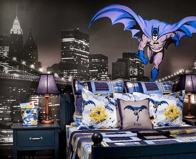 dormitorio tema Batman