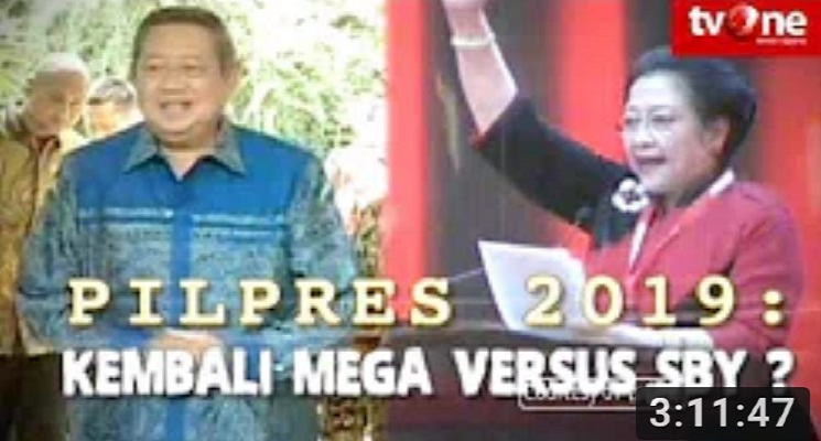 Indonesia Lawyers Club (ILC) - Pilpres 2019 : Kembali Mega vs SBY ?