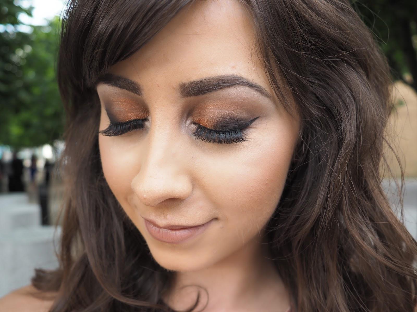Autumn / Fall Makeup Look | Bronze Smokey Eye
