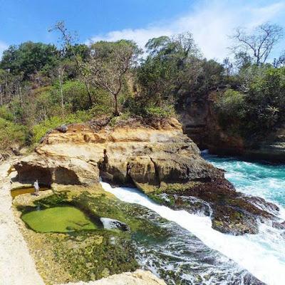 Pantai Cantik Kali Pucung tulungagung