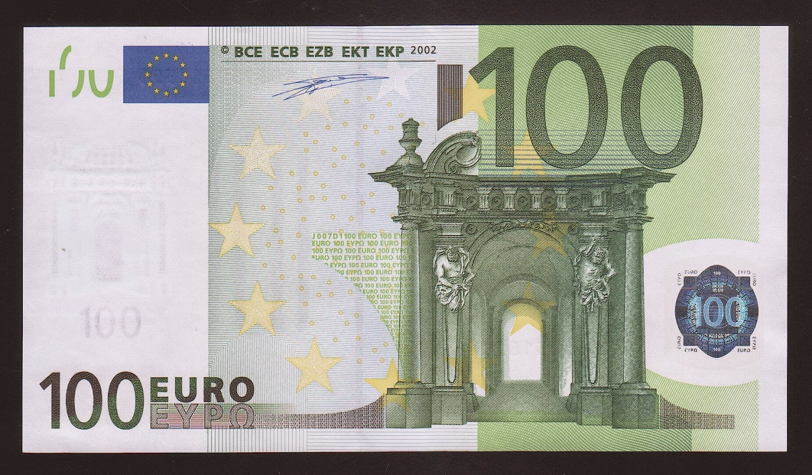 100 euro world banknotes coins pictures old money for Wohnlandschaft 100 euro