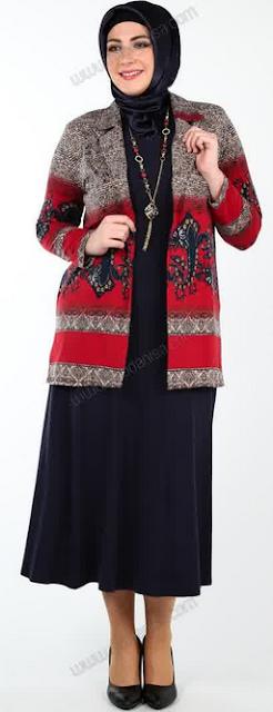 Contoh Baju Kerja Muslim untuk Orang Gemuk