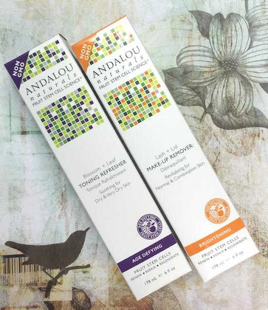 Andalou Naturals - Revitalizing Lash + Lid Makeup Remover, Blossom + Leaf Toning Refresher