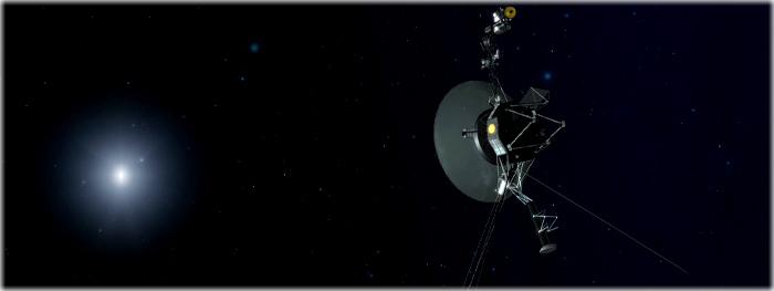 Voyager 1 aciona propulsores apos 37 anos sem uso