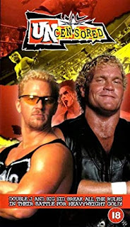 WCW Uncensored 2000 - Event poster