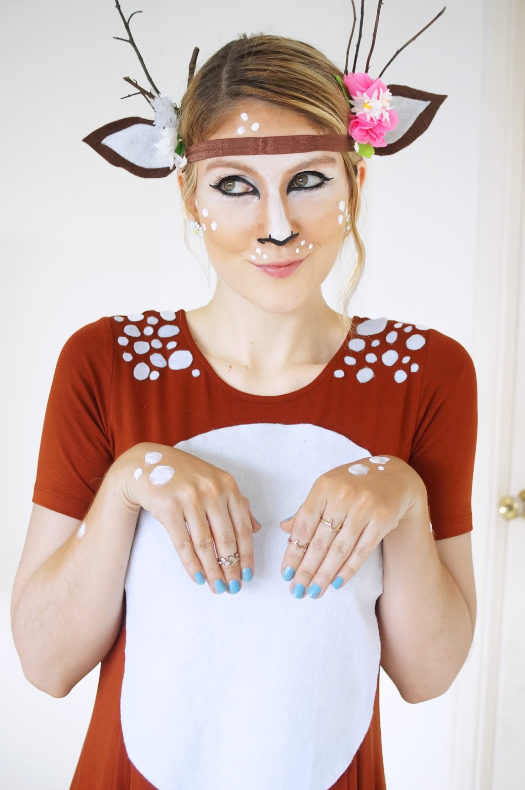 Easy Homemade Deer Costume Tutorial for Halloween