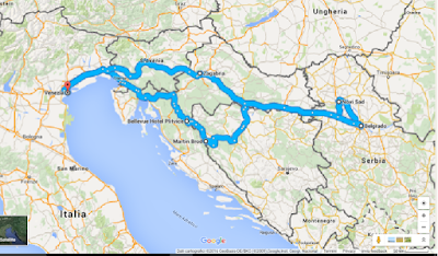Mappa ExploreBalkans