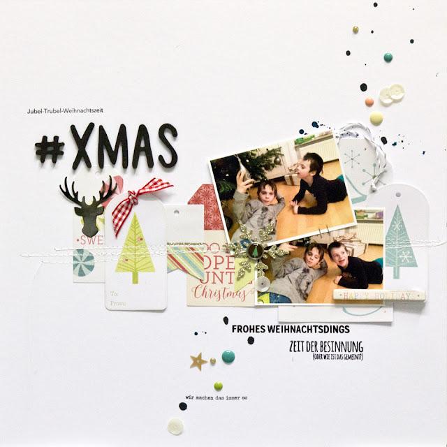 Layout Weihnachten