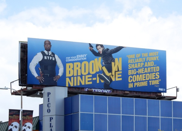 Brooklyn Nine-Nine 2015 Emmy Billboard