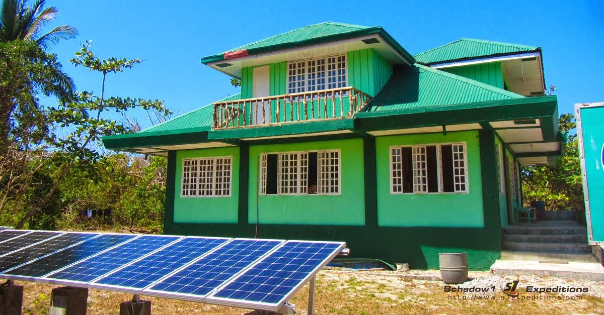 Solar Power on Apo Reef Island, Mindoro - Schadow1 Expeditions