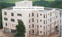 Teaching vacancy at North Eastern Institute of Ayurveda and Homoeopathy