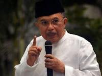 Jusuf Kalla Soal Fitnah Habib Mesum: Kok WA-nya Kayak Novel Saja?