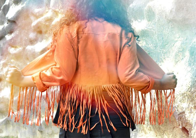 fringe jacket tassel jacket india bohemian indian fashion blogger