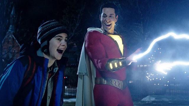 فيلم !Shazam يتفوق على التوقعات ويُحقق إيرادات فاقت 158 مليون دولار عالميا