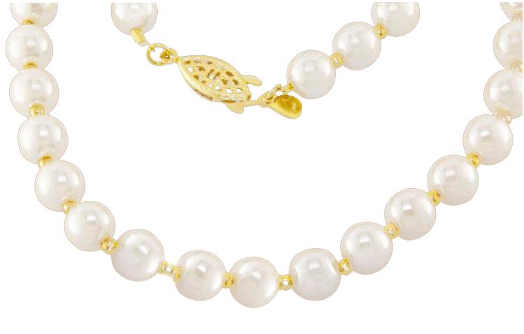 6dd5a1e0d43f5 colar de perolas semi joia · colar de perolas brancas. Conheça ...