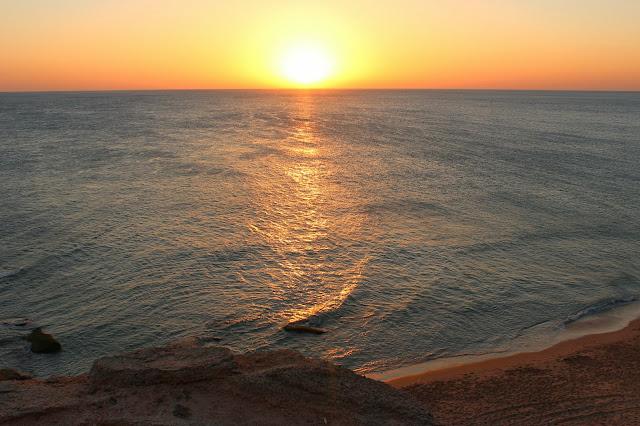 Puestas de sol desde el cabo de Trafalgar