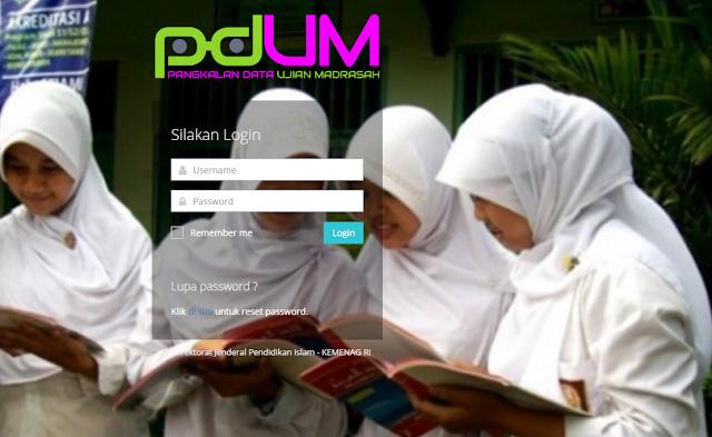Panduan Penggunaan Aplikasi Pangkalan Data Ujian Madrasah