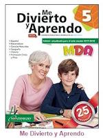 Me Divierto y Aprendo 5° grado Bloque 4 - Material Educativo - MDA 5