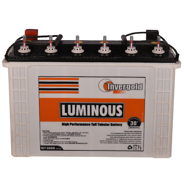 Luminous Inverlast Batteries
