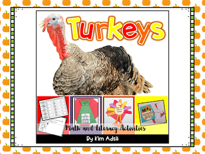 https://www.teacherspayteachers.com/Product/Thanksgiving-Turkey-Activities-for-Math-and-Literacy-103517