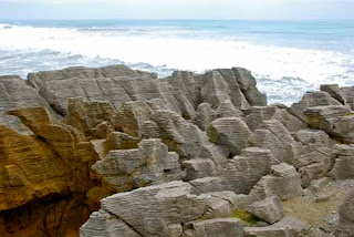 Panakaiki Pancake Rocks Paparoa National Park