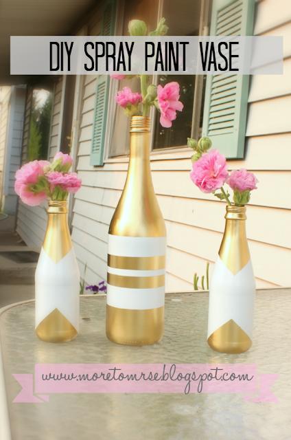 DIY Spray Paint Vase