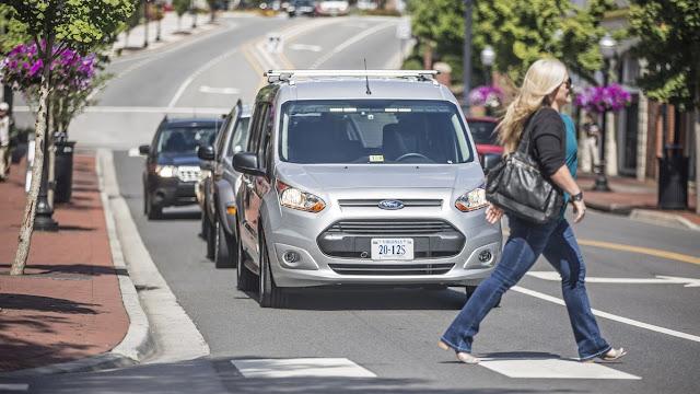Ford autonomous driving