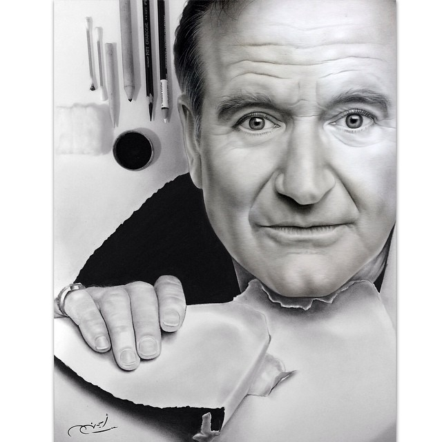02-Robin-Williams-aymanarts-Realistic-Drawings-of-Celebrities-and-Other-www-designstack-co