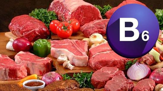 La vitamina B6 y sus beneficios para la salud