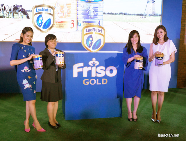 Celebrity mothers and Friso Gold's top guns at the launch event