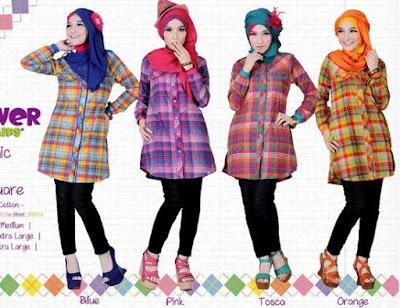 model terbaru baju muslim hijab syar'i
