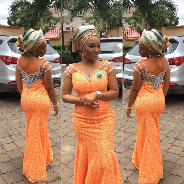 Aso Ebi Lace Style For Wedding Guests Zaineeys Blog