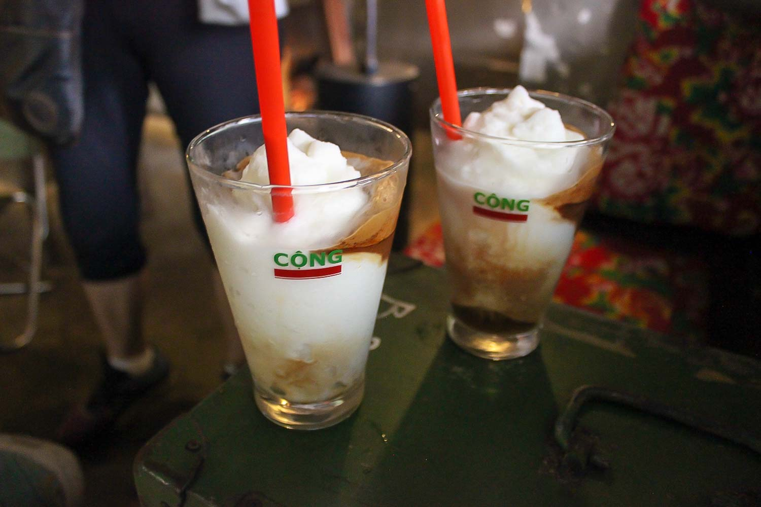 coconut coffee hanoi vietnam