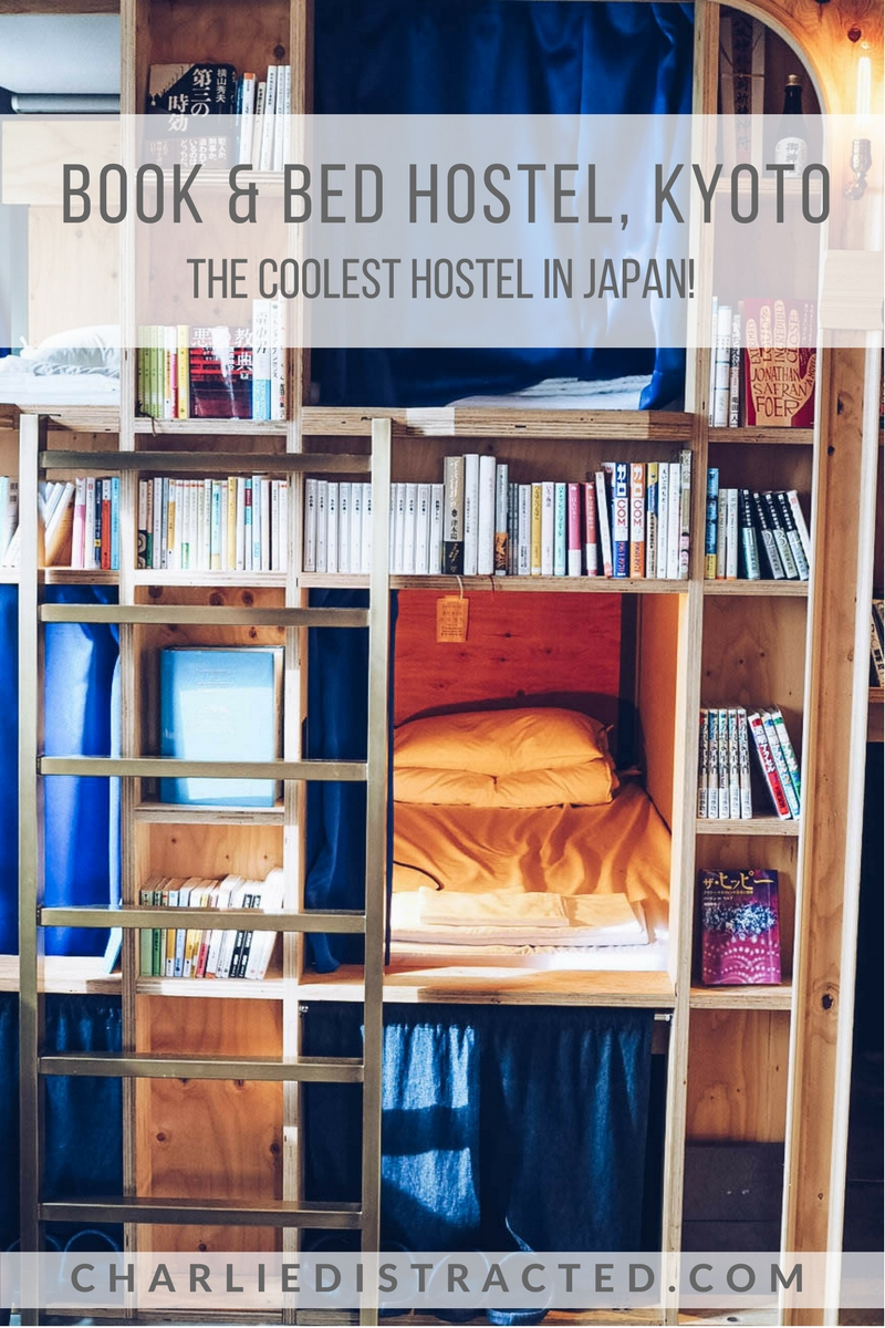 A Night at Book and Bed, Kyoto: The Coolest Hostel in Japan