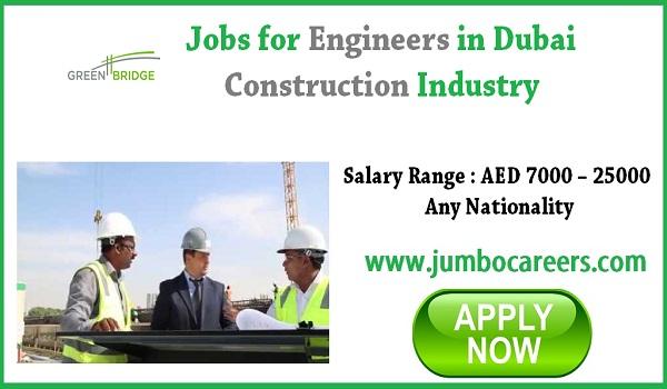 Urgent Dubai jobs, UAE Engineers jobs for Indians,