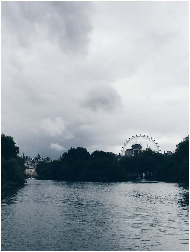 travel diary, london, st. james park