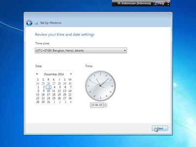 Atur Time Zone Windows