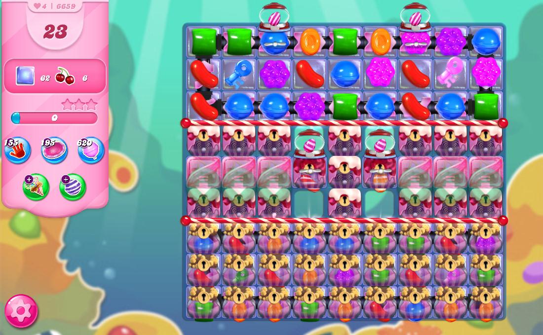 Candy Crush Saga level 6659