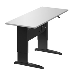 Manual Height Adjusting Sit To Stand Table