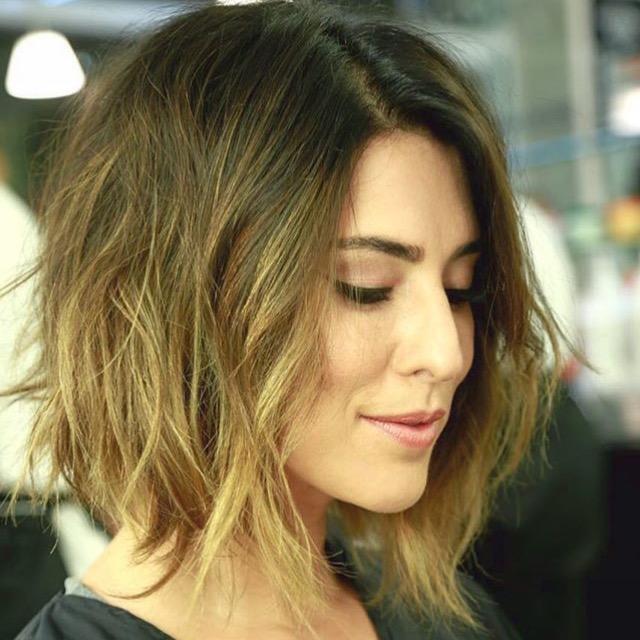 Corte de cabello chanel largo
