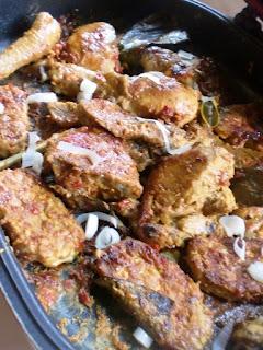 Resep Ayam Bakar Bumbu Rujak Ala Ummi