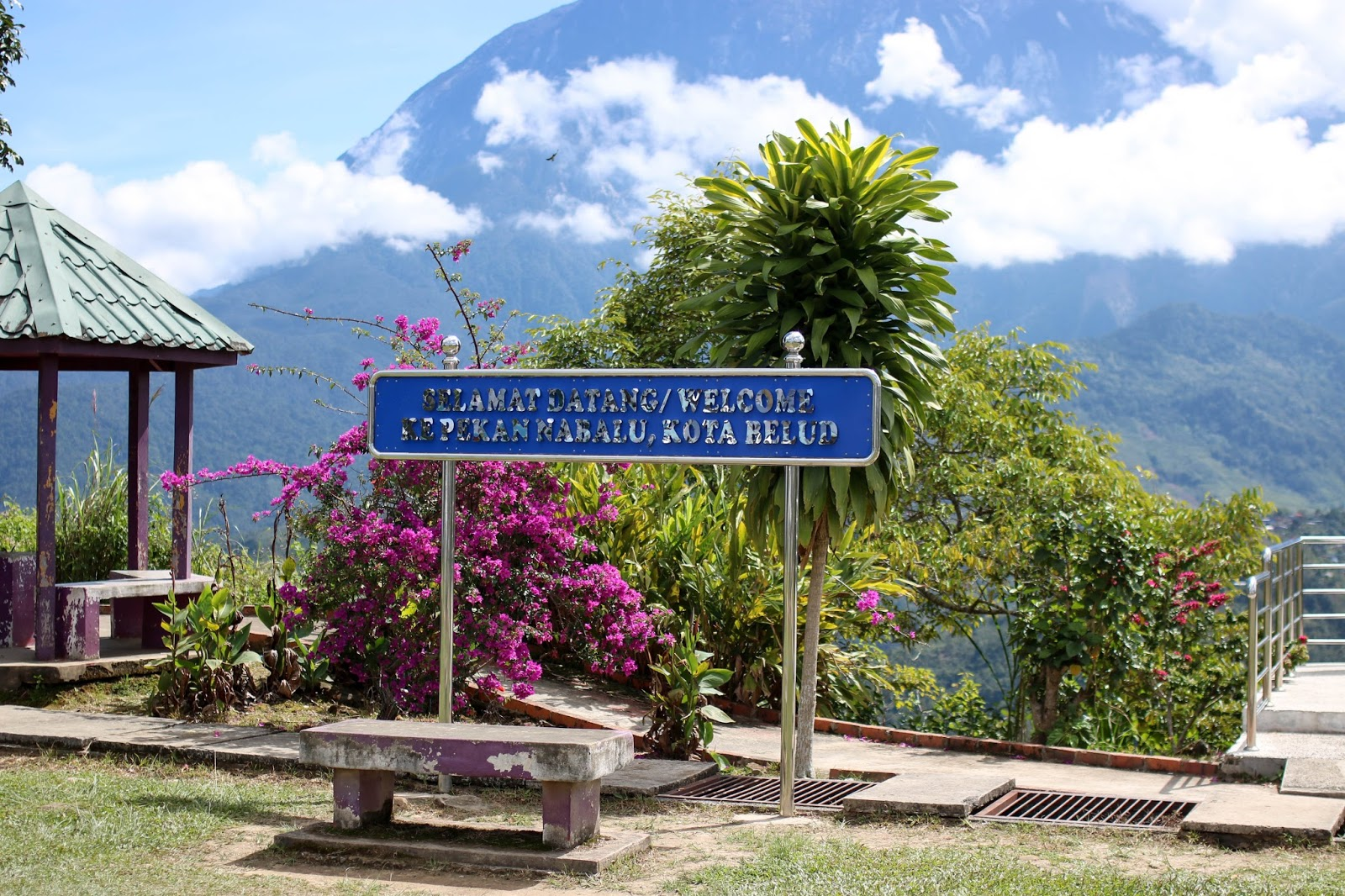 The Kinabalu Park is a popular tourist destination because it is a UNESCO Heritage Site.